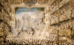 """Lully's Opera """"Armide"""" Performed at the Palais-Royal 1761"""