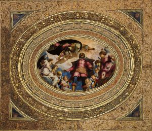 Jacopo_Tintoretto_-_Glorification_of_St_Roch 1564