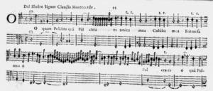 Monteverdi.O quam pulchra