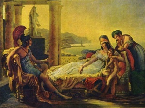 pierre-Narcisse Guérin.Aeneas 1815