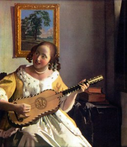 53.Jan Vermeer van Delft- Die Gitarrenspielerin,vor 1670