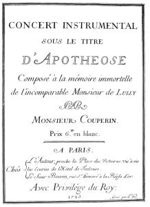 Coup.Lullyn apoteoosi