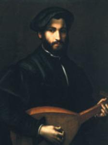 G.Campi, Bildnis eines Lautenspielers