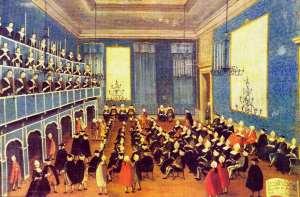 ospedale Vivaldin aikaan.n.1720